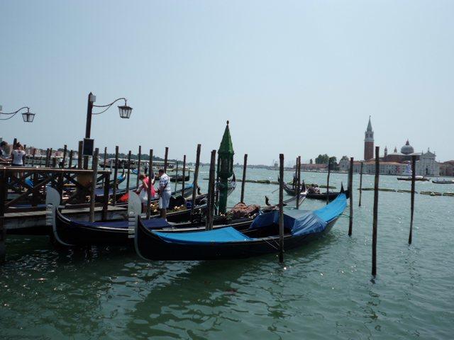 Italie Gondole à Venise