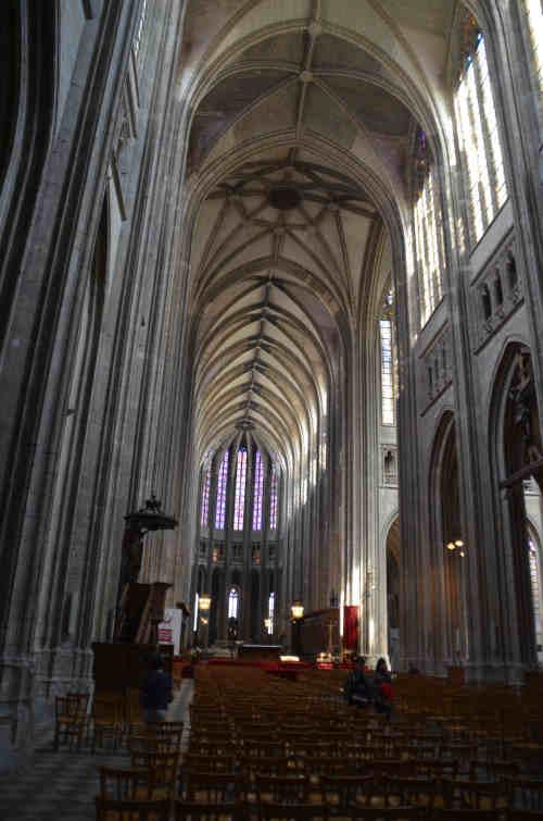 Voûtes de la cathédrale d'Orléans